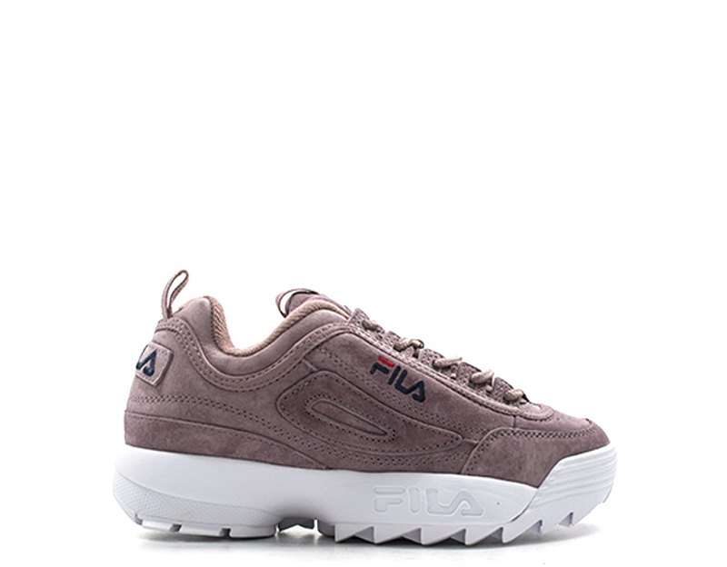 c8a496bb Details about Shoes FILA Woman Sneakers ROSA Suede 1010436-70W
