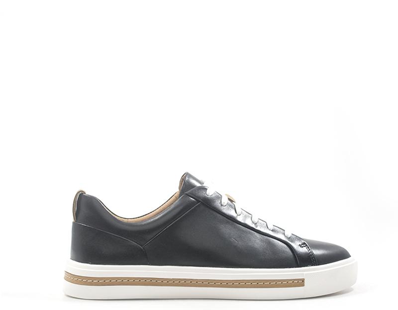 shoes CLARKS Woman Low Sandals black  141642-NE
