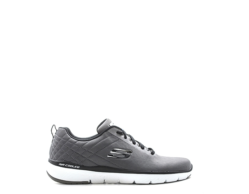 Details about Men's Skechers Black Shoes Memory Foam Sporty Comfort Casual Athletic Mesh 52956