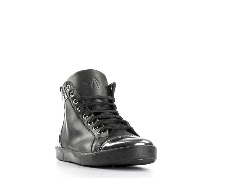 shoes REBECCA VAN DIK Woman black Laminate,Natural Laminate,Natural Laminate,Natural leather 9141VIT 15f44f