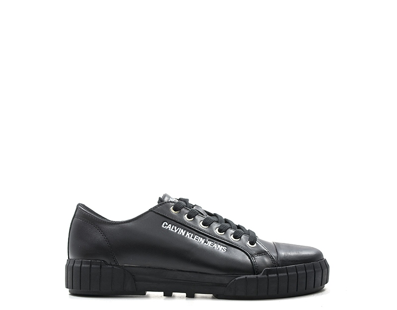 Details about Shoes CALVIN KLEIN Man Sneakers trendy NERO Natural leather  BURTOM-S1754 5755e09bc39