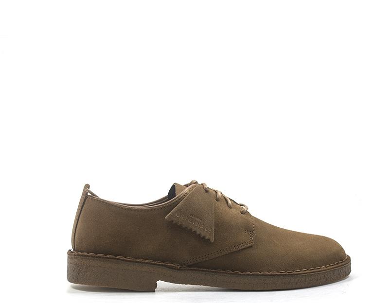 shoes CLARKS Man Clark brown  DESERT LONDON