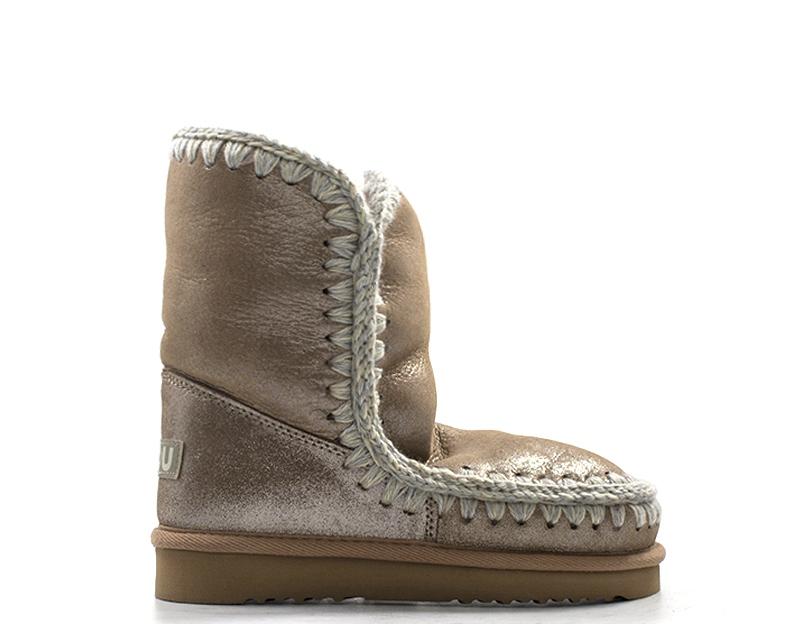98da0e243e4 Details about Shoes MOU Woman Ugg ROSA Natural leather ESKIMO24LIM-MGFKBR