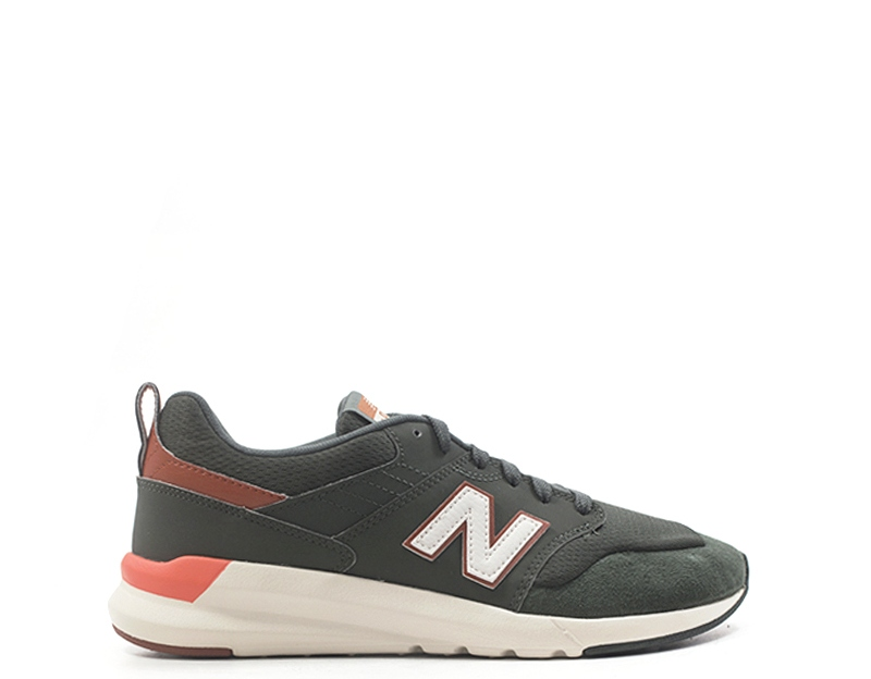 Shoes NEW BALANCE Man Sneakers trendy MILITARE Fabric,PU,Suede ...