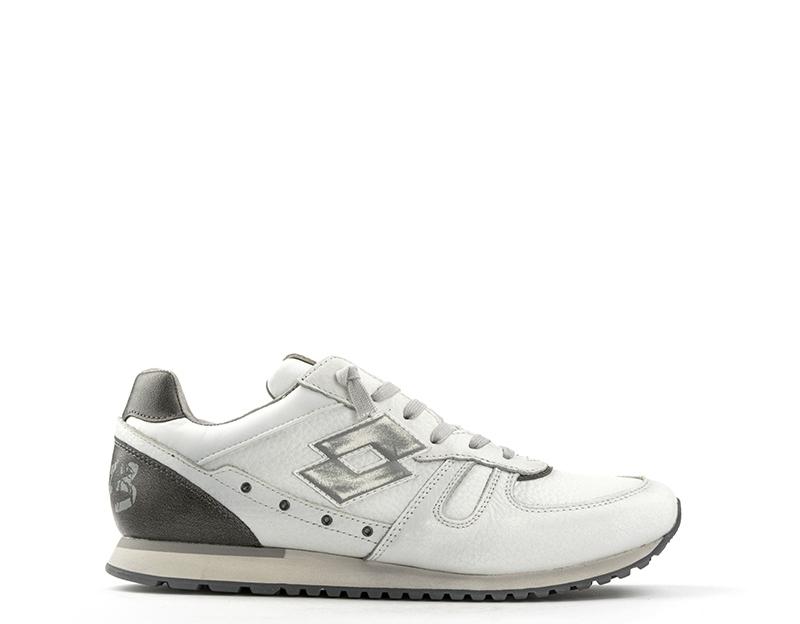 Details about Shoes LOTTO LEGGENDA Man BIANCO GRIGIO Fabric 36ce79a1576
